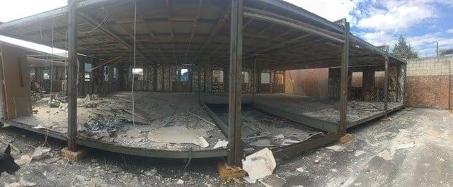 Halfway Through The Modular Building Refurbishment